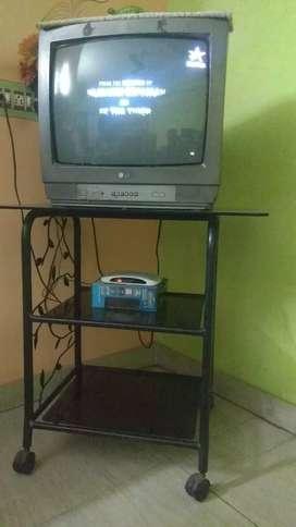 Box TV & Iron Table