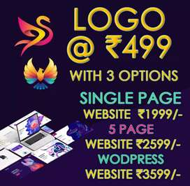 Logo design @299 with 2options