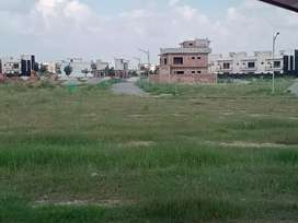 7 marla cutting plot for sale in Faisal town A block near to park