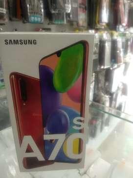 Samsung A70s 8gb 128 gb