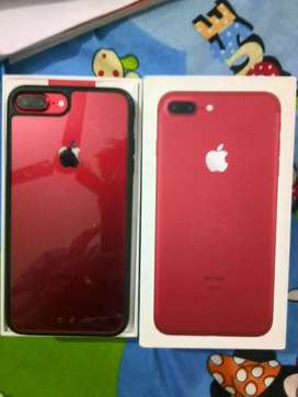 iphone 7 plus 128 gb Product red one year old this month only/-