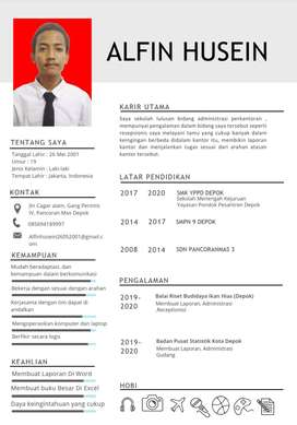 Sedang mencari pekerjaan Diutamakan (Receptionist,AdminOB&CS)