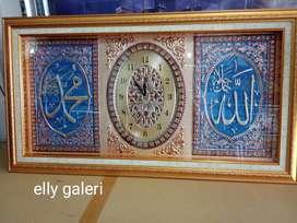 Sale jam + kaligrafi uk jumbo 110 x 60 cm Hp/wa