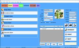 Point of Sale software for Restaurants, Fast Food Shops etc. Rs.15000/