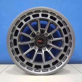 Velg Ring 17 PCD 6X139 HSR DPO Buat Pajero/Fortuner/Strada/Triton