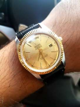 Rare Vintage Sicura Presidential Automatic Swiss Watch