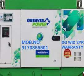GENERATOR FOR SALE WITH 2 YEAR WARRANTY MOB.NO.9839837FOUR86