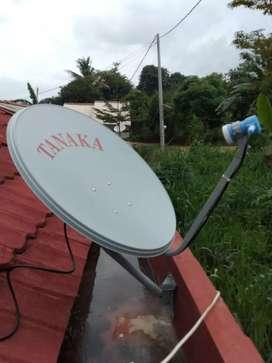 Antena Parabola Transvision Nusantara HD Free Kabel HDMI