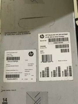 Jual printer HP deskjet pnk 2135