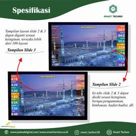Online Shop Kebutuhan Jam Masjid TV LED Siap Kirim Situbondo