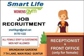 Receptionist/Front Office