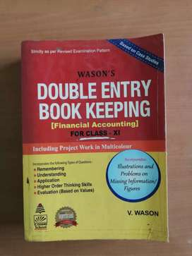 Double Entry Book Keeping by V. Wason