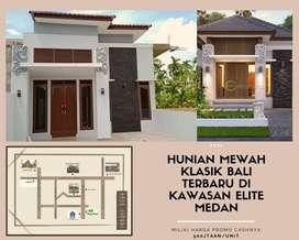 Klasik Mewah LuasTerbaru di Tengah Kota Medan