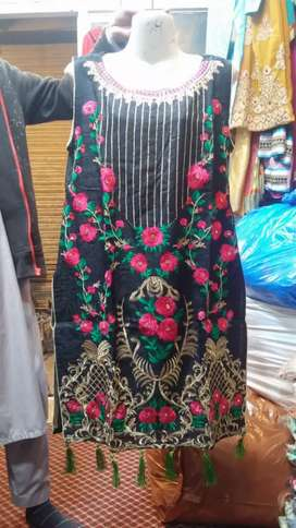 Imroided 3 piece suit imroided shalwar / only hol sell rabta
