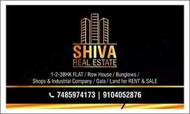 2bhk semi furniture  flat rent at silvassa