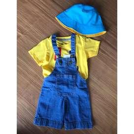 Baju kaos dan Overall Anak