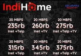indihome internet unlimited plus tv termurah paket promo