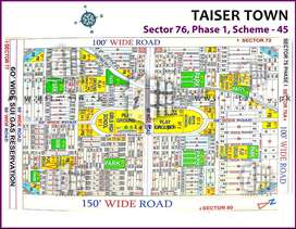 Chance deal in VVIP Sector 76 Taiser town Phase 1