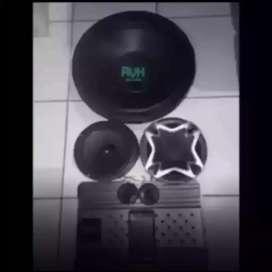 Mumer Trbaru PAKET AUDIO CUBIG AVH suara mantep bonus led cosmetik