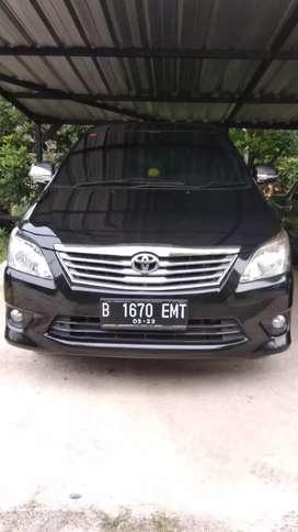 Toyota Kijang Innova type G  (MT) thn 2013