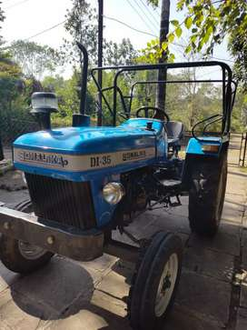 It is a tractor.