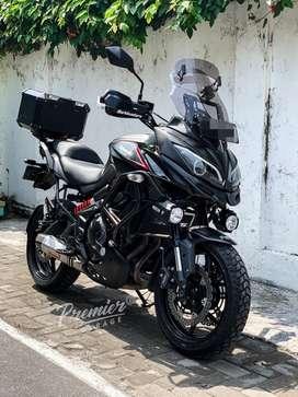 Moge Kawasaki New Versys 650 Black Modif Branded