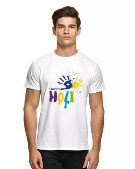 Classic Holi Men Tshirts  Only at Rs.300