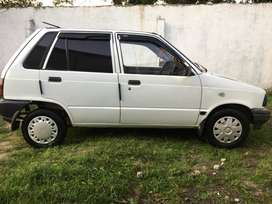 Suzuki mehran vx cng and petrol working .white color 10/8 condition
