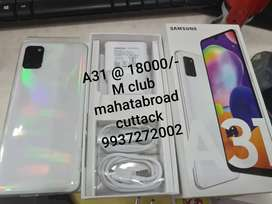 Samsung A31 sealopen not used
