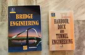 Railway, Bridge Docks & Harbour Civil Engineering text books