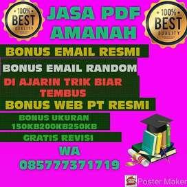 Jasa bikin email pdf amanah