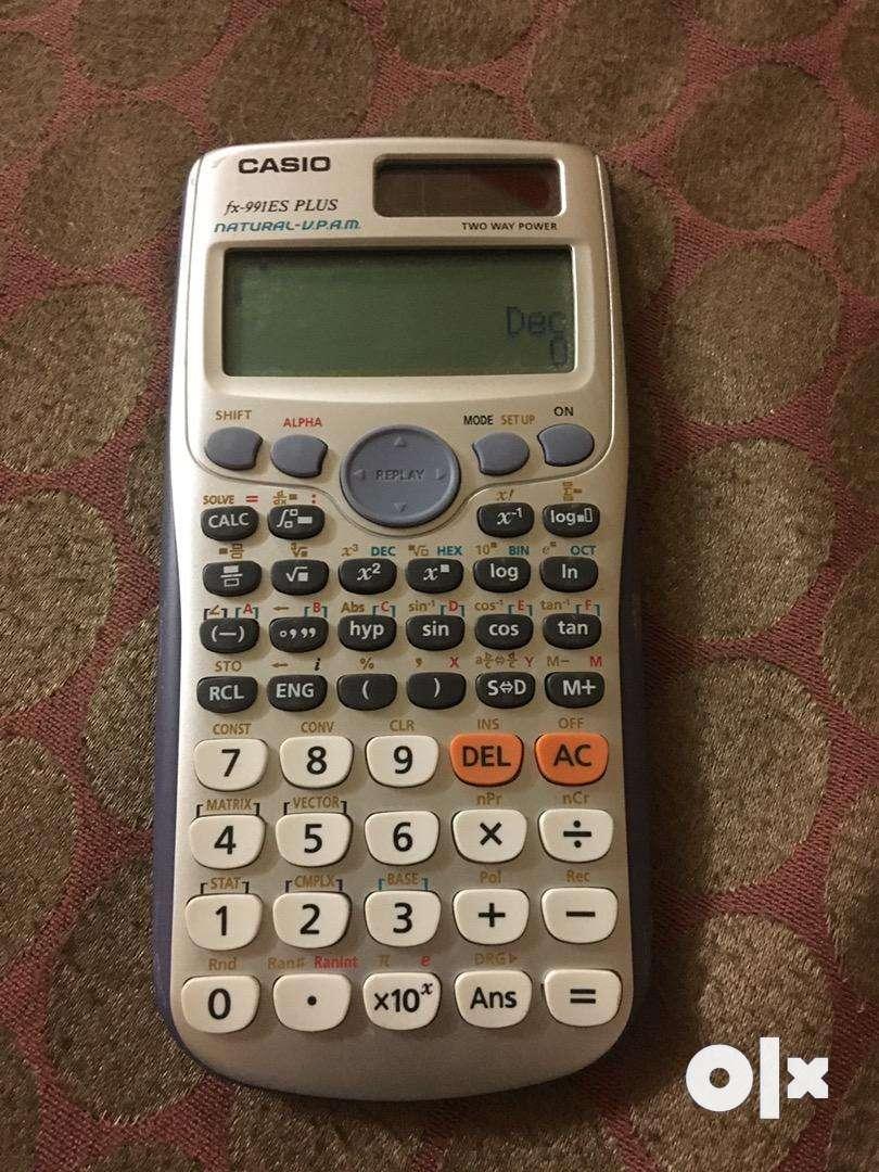 Casio scientific desktop calculator 0