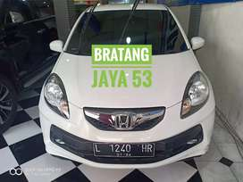 BRIO E Manual cc 1.2 TH 2015 kredit Dp 15jt Bratang jaya 53  Tuty