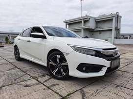 Honda Civic Turbo ES 1.5 At 2016 Putih Service Record Kondisi Terawat