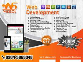 Web Design, Wordpress, E-Commerce, HTML, Custom Website , Seo & SMM