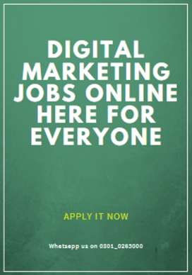 Online Digital marketing jobs we want to hire (apply it now)
