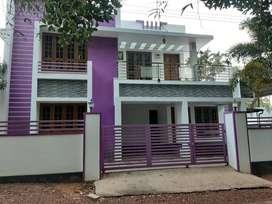 2300 SqFtvilla/4 bhk/ 6.5cent/ 69 lakh/Ammadam, Thrissur