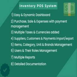 Inventory Management System POS(Point of Sale) for businesses