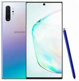 Samsung galaxy note 10 plus 12 Ram 256 GB ALOW GLOW