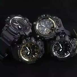 Jam tangan pria wanita banyak pilihan model anti air free box