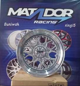 velg racing keren ring 15x7,5/8,5 promo murah