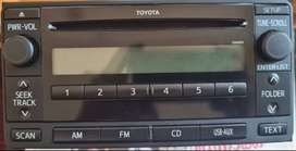 Original Toyota Fortuner Stereo (not used)