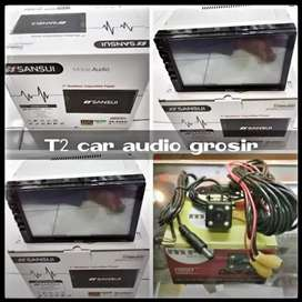 2din sansui japan android link led 7inc full hd+camera hd mumer