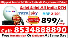 Happy DTH Offer! Tata Sky DTH Airteltv Dish Tatasky Free Amazon Stick