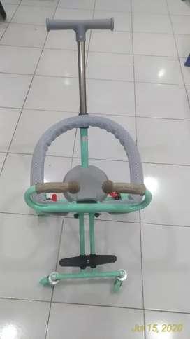 Exotic baby stroller