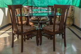 Dining Table Set - Six Seater