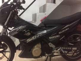 Satria fu f150, dohc 4valve, full black