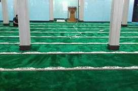 karpet masjid mewah import super tebal dan awet pasang Gresik