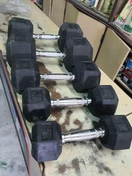 Iron dumbles