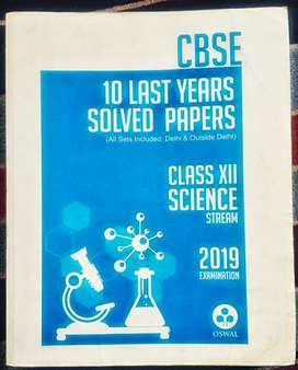 10 year solved oswal cbse 12th science
